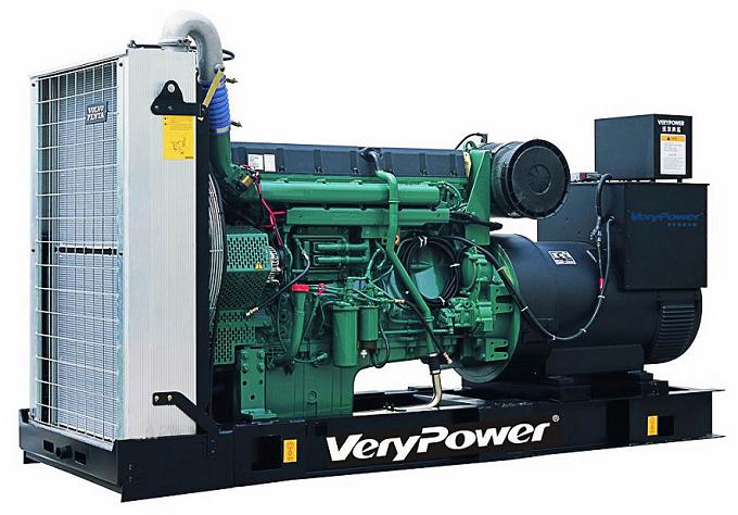 发电机组沃尔沃引擎
